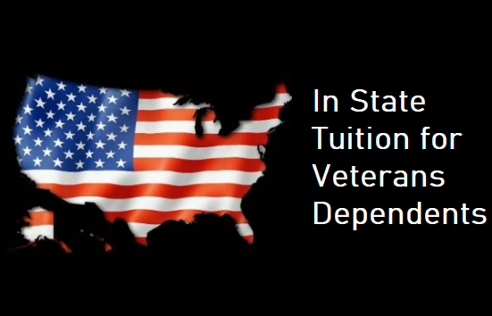 In State Tuition for Veterans Dependents