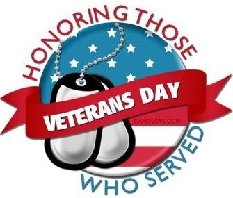 veterans day logo 2021