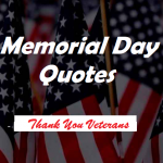 Memorial day quotes and saying 2021